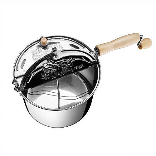 Product Image 10: Great Northern Popcorn Original Stainless Steel Stove Top 6-1/2-Quart Popcorn Popper