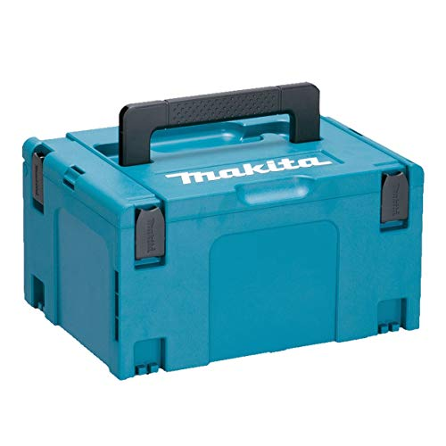 Makita 821551-8 MakPac Type 3 Stacking Connector Case 396mm x 296mm x 210mm, Blue