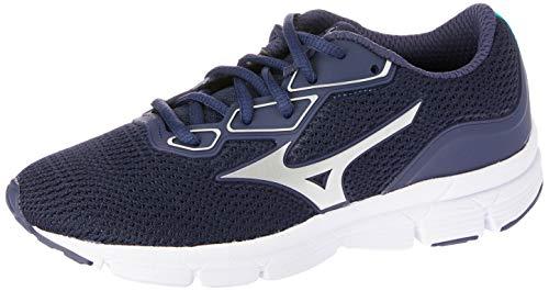 Tênis Esportivo Glow GS, Mizuno, Meninos, Azul Claro, 36