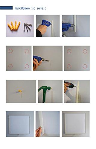 ColdFighting Geringer Rabatt 1000 * 1200mm 1200W Bild Fernes Infrarot -Panel Elektrische Heizung Wand Heizung