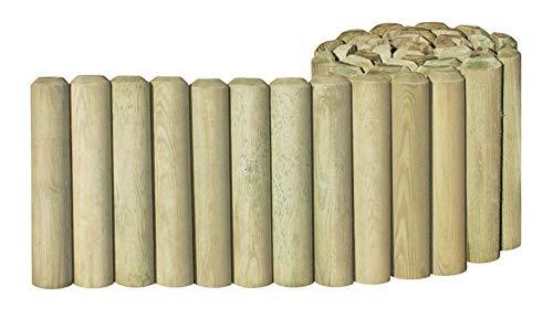 Gartenwelt Riegelsberger Rollboarder aus Holz 30 cm hoch 200 cm lang