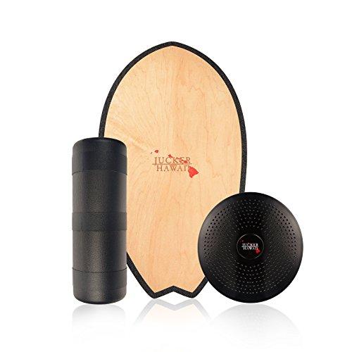 JUCKER HAWAII Balance Board Homerider SURF - Tavola Equilibrio compresi Rullo e Cuscino