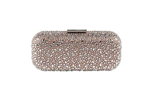 Anna Cecere Cristall Diamonds Encrusted Hardshell Clutch