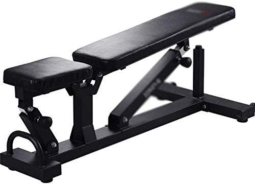 mjj Silla de fitness comercial ajustable, banco de peso para el hogar