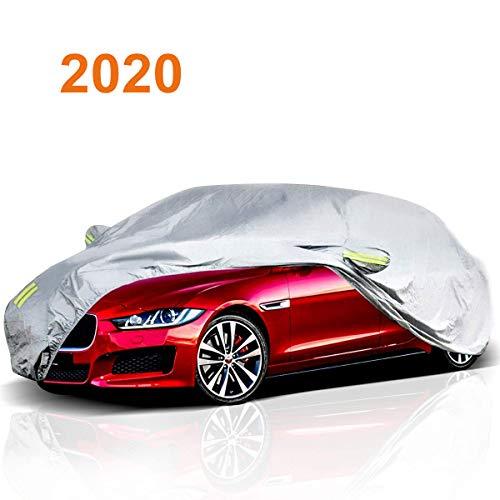 Leader Accessories Car Cover Waterproof//Snowproof//Sunproof//Dustproof//Windproof Scratch Resistant Fit Cars Breathable Outdoor Indoor Sedan Cover 170/'/'//432x 155x 127CM