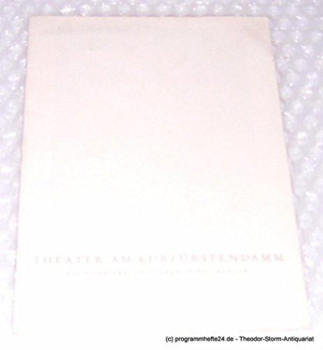Programmheft Die Grasharfe. Ein Stück von Truman Capote. Ab 6. April 1962. Spielzeit 1961 / 62