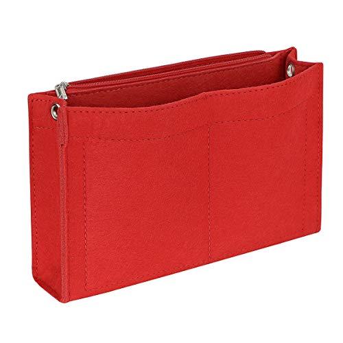 Joqixon Handtaschen Organizer Filz, Taschenorganizer Bag in The Bag, Innentaschen für Handtaschen, Taschen Organizer Klein