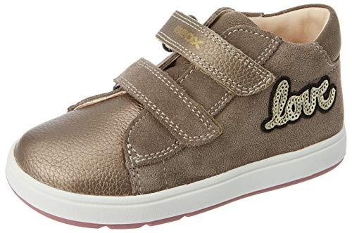 Geox Baby-Mädchen B BIGLIA Girl B First Walker Shoe, (Smoke Grey), 25 EU