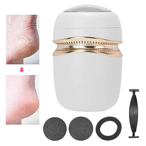 Electric Foot Grinder, Rechargeable Portable 3 Grinding Heads Vacuum Type Foot Grinding Machine for Feet