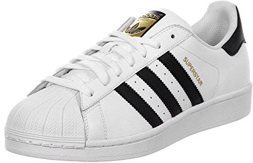 adidas Superstar J, Unisex niños, Blanco (Cloud White/Core Black/Cloud White 000), 38 2/3 EU