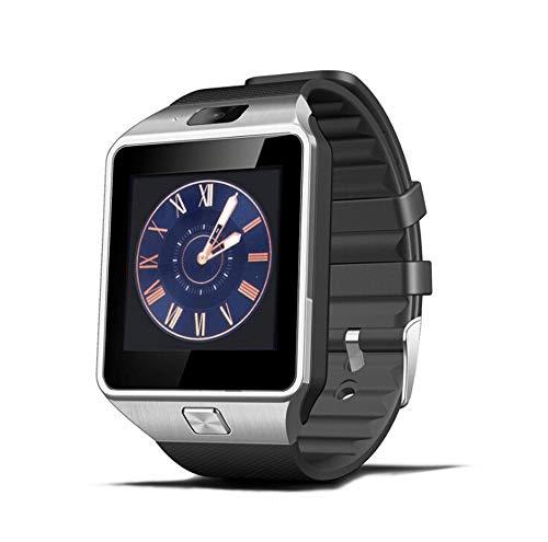 MEISHENG Bluetooth Smart Watch Touch Screen Smartwatch mit Kamera und SIM Card TF/SD-Karten-Slot-Pedometer Fitness Tracker für Android-Phones Samsung Huawei, Smart Watches für Kids Womens Men,Gray