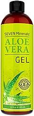 Save on Seven Minerals Organic Aloe Vera Gel