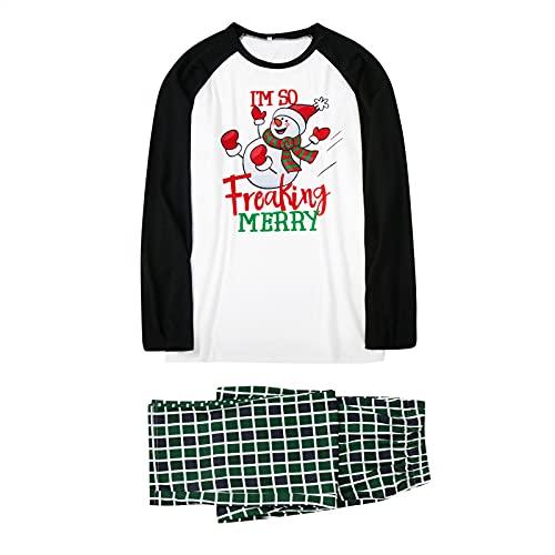 ROYIYI Weihnachts Einteiler Schlafanzüge Hausanzug Weihnachten Schlafanzug Familie Hoodie Jumpsuit Family Pyjamas Zipper Up One Piece Overall Nachtwäsche mit Hirsche