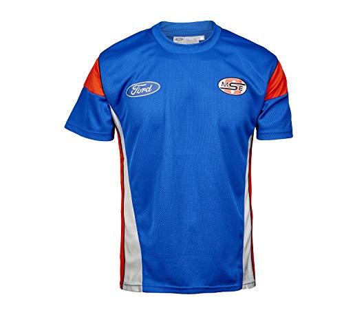 OMSE Herren T-Shirt Ford Racing Rally X Cross Team Olsberg MF2790, Blau XXL blau