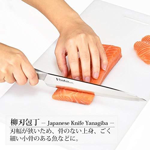 下村工業日本製ヴェルダン柳刃包丁210mmモリブデンバナジウム鋼食洗機対応OVD-16新潟燕三条製