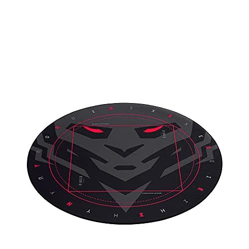 Gaming Bodenschutzmatte Bürostuhl Stuhl Unterlage Stoff Gummi rutschfest Kratzfest Ø 100 cm