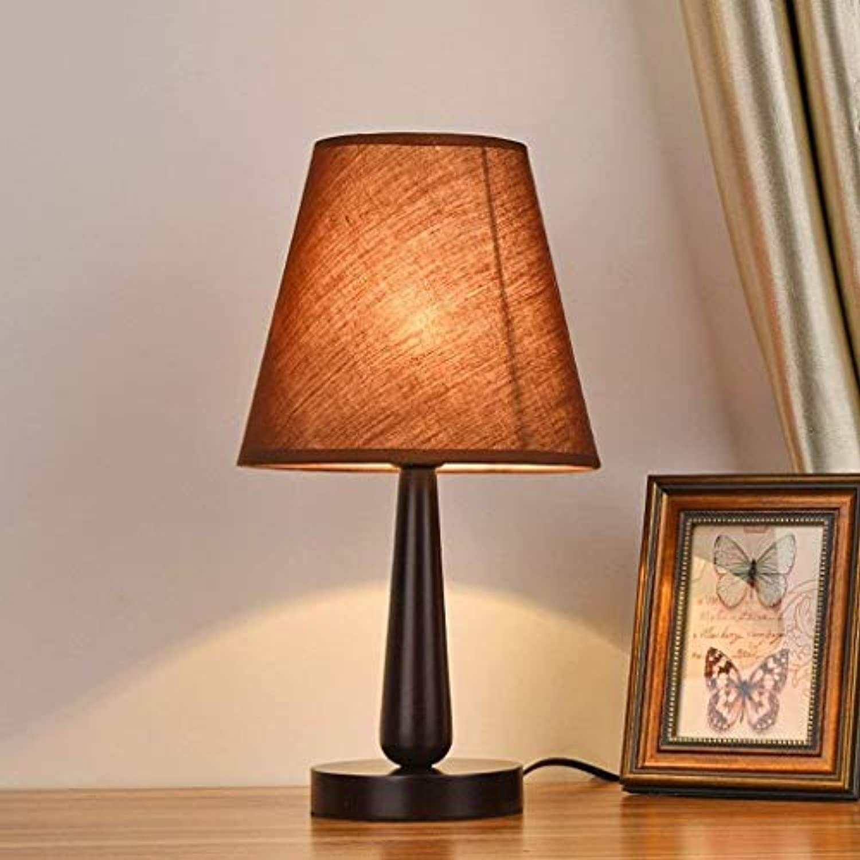 MEIDI Home Moderne minimalistische kreative Mode aus Holz Tischlampe Kindertischlampe Schlafzimmer Nachttischlampe