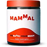 Mammal Super Nootropic Brain Booster Supplement - Enhance Focus, Boost Concentration & Improve Memory   Stop Procrastination   Mind Enhancement with Alpha GPC & Lions Mane Mushroom Neuro Energy & IQ