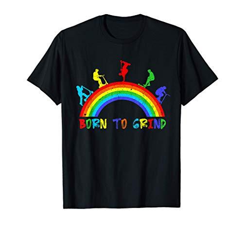 Scooter Scooter Arco Iris Camiseta