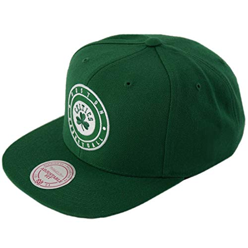 Mitchell & Ness Snapback Cap HUD027 Boston Celtics Grün, Size:ONE Size