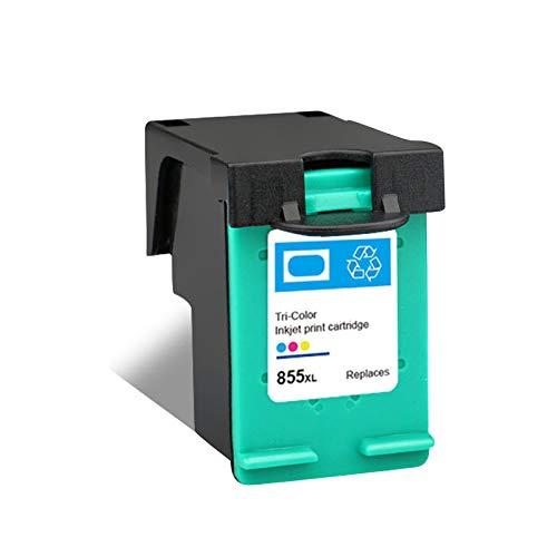 Cartuchos de tinta 851 855 de repuesto para HP 7108 4168 6318 D5168 de alto rendimiento de inyección de tinta negro y color