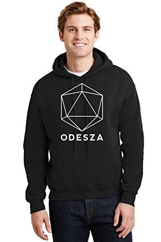 H&K Clothing Odesza Hoodie Flume EDM EDC Electronic Music Tee Sweatshirts Black
