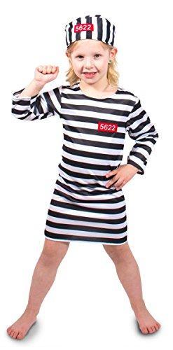 Folat 63211 -Crooks Shirt Mädchen, 2-teiliges, Größe M, Mehrfarbig
