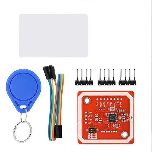 PN532 für NFC / RFID V3-Funkmodul Reader Writer Board für Android-Mobilkommunikation, RFID-Reader-Unterstützung: Mifare1K-, 4K-, Ultralight- und DESFire-Karte SO / IEC14443-4-Karte, z. B. CD97BX, CD,