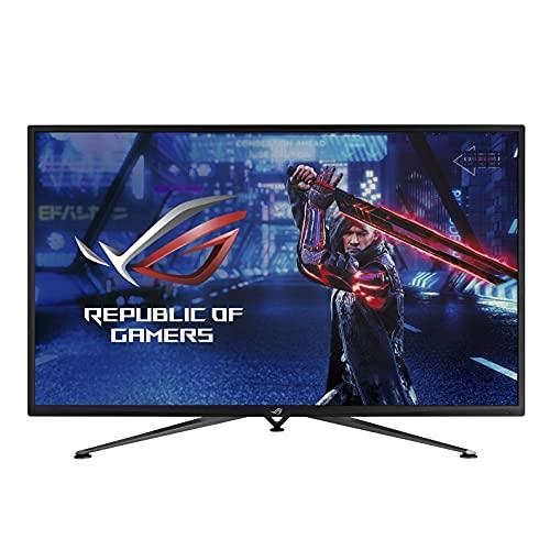 ASUS ROG Strix XG43UQ HDMI 2.1 Gaming Monitor 43  4K UHD 144 Hz 1ms, HDMI 2.1, AMD FreeSync Premium Pro, Display Stream Compression, ELMB Sync, DisplayHDR1000, DCI-P3 90%, Shadow Boost, Telecomando