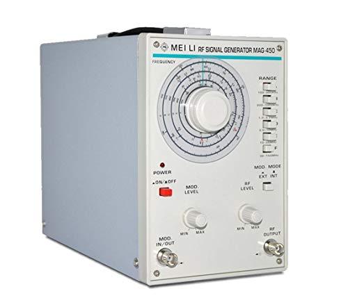 YZLP osciloscopio Generador de señal de Alta frecuencia 100kHz-150MHz Fuente de señal Generador de señal de Audio MAG-450 (Size : 110V)