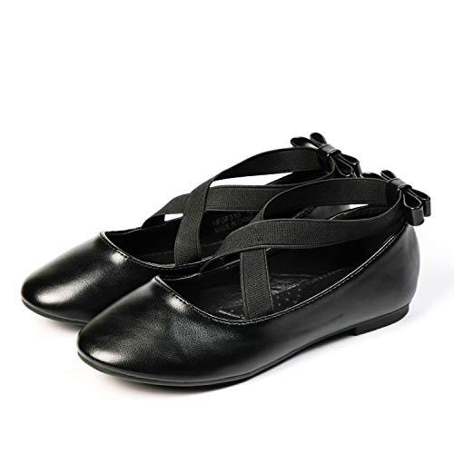 Nova Utopia — Sapatos infantis com alça no tornozelo, modelo NF Utopia Girl NFGF318, Nf318 - Black, 11 Little Kid