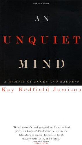 Uma mente inquieta: uma lembrança de humor e loucura por Kay Redfield Jamison (1995-09-05)