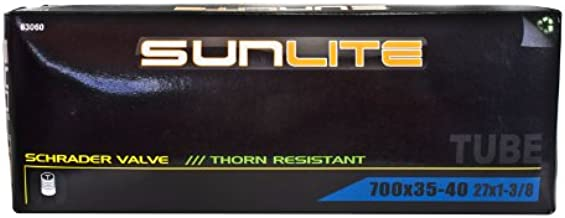 Pyramid Sunlite Thorn Resistant Bicycle Tube 700 x 35-40 (27 x 1-3.8) SCHRADER Valve