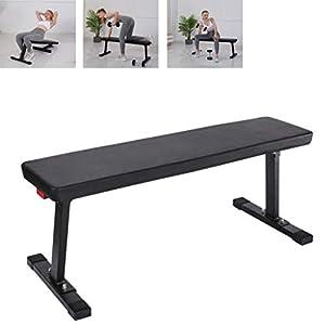 Capacity Weight Bench Strength Training Benches for Weight Training And Abdominal training, Sit Up Bench (Black)