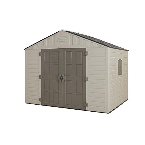 US Leisure 10 Ft. X 8 Ft. Stronghold Resin Shed