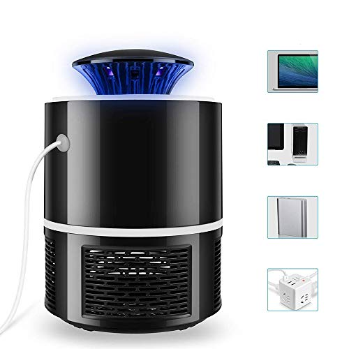 Indoor Insect Trap for Bugs Including Mosquitos, Fruit Fly, Gnats, Moth Flies, No-See-Ums. UV Light Attracts Bugs,USB Mosquito Zappers.Indoor Insect Killer Mosquito.