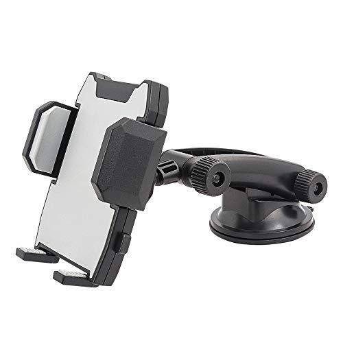 Kolasels Soporte para teléfono Celular con rotación de 360 Grados para iPhone 11/XS/XR/X/8 Plus/8/7/6, Samsung Note 10+/10/9/8/7, HTC, LG y más teléfonos móviles de 3,5 a 6,5 Pulgadas