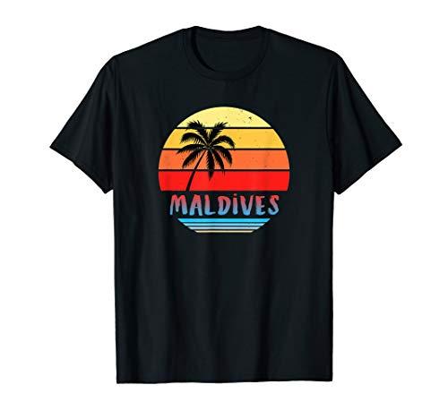 Malediven Trikotgeschenk-Souvenir | Malediven T-Shirt