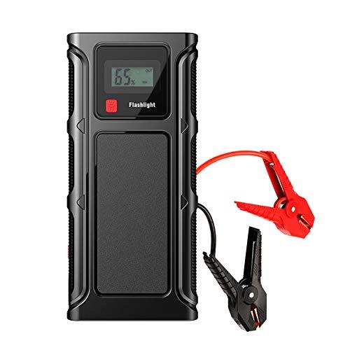 Acptxvh Bewegliches Auto-Notfall-Start-Stromversorgung Car Jump Starter 12V Notstart Batterie-Auto Starter-Energien-Bank,18000mah Ordinary Clip