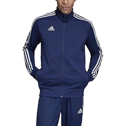adidas Tiro 19 Training Jacket - Men's Soccer 4XL Dark Blue/Bold Blue/White