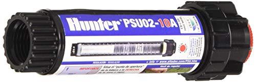 HUNTER PSU0210A Difusor emergente, 5 cm, con tobera 10A, Negro, 4.00x4.00x15.00 cm