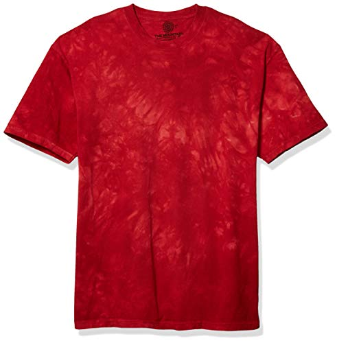 The Mountain La montaña Candy Apple Playera, Color Rojo, Talla X-Large