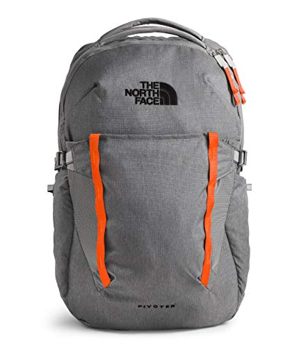 The North Face Pivoter, Zinc Grey Dark Heather/Persian Orange, OS