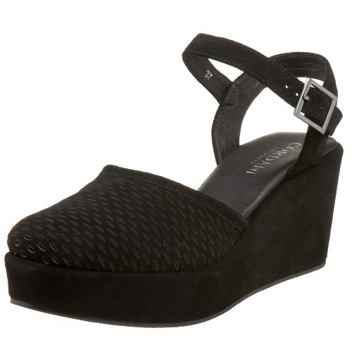 Cordani Women's Dean Platform Shoe,Black,41 EU (US Women's 11 M)