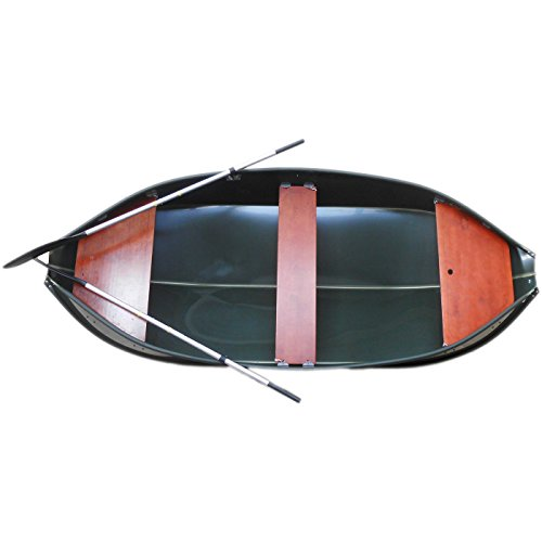 Banana Angelboot, Ruderboot, Faltboot, Freizeitboot, Boot - Typ 325 in grün - 15 Jahre Garantie