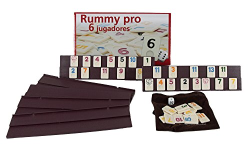 Aquamarine Games - Rummy, 6 jugadores (DO001) , color/modelo