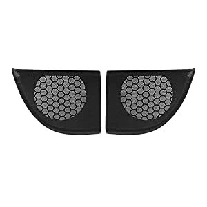FANGPING Fang-ping Car Front Left+Right Door Speaker Cover Trim Speaker Grille Fit For Mercedes-Benz CLC-Class 2008-2011