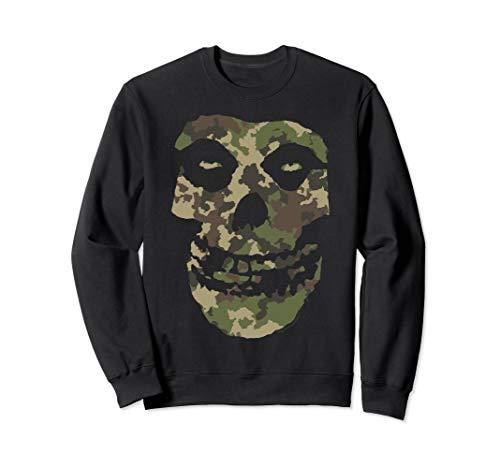 Misfits Camo Skull Sweatshirt