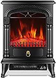 Estilo Europeo Negro Chimenea Calentador, Inicio Sala De Estar, Dormitorio Estufa, Calentador De Velocidad De Interior, Calentador Eléctrico, Ahorro De Energía, Ahorro De Energía, La Mudanza Fácil