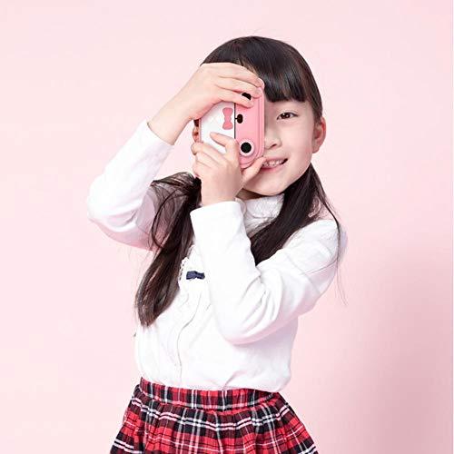 lembrd kindercamera, digitale camera voor kinderen - 2,4 inch 1080 P 1200 watt DIY fotodruk videorecorder camcorder kinderen grote hoofdsticker, roze